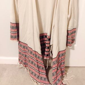 Forever 21 Aztec print cardigan size small